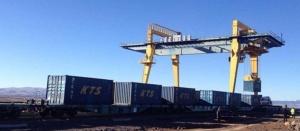 770 - Bakü Mersin treni Ahılkelek - TCDD Taşımacılık
