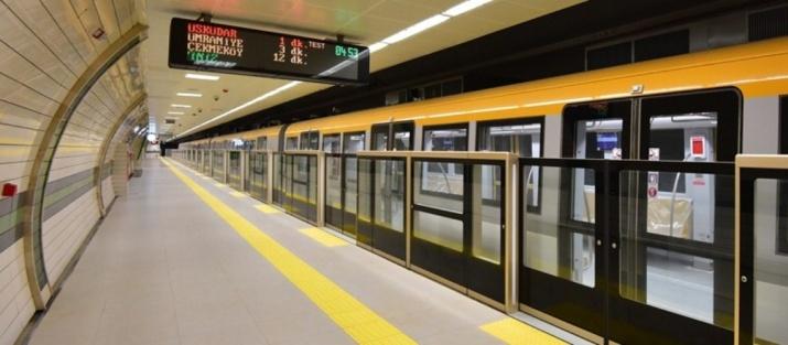 797 - Ümraniye metrosu - IBB