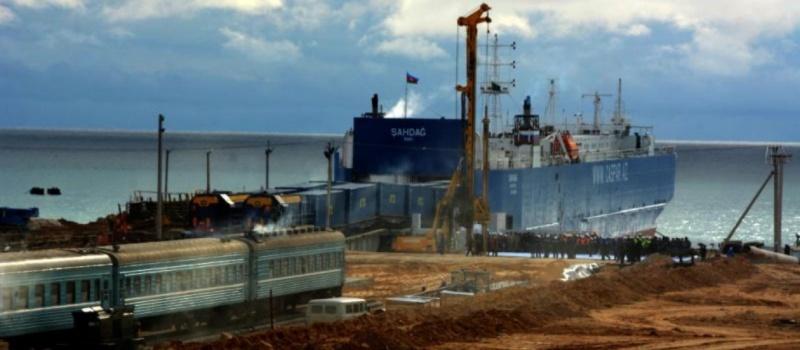 800 - Kuryk port - The Mangystau region