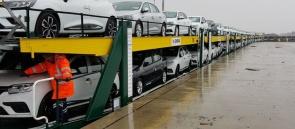 809 - Otomobil treni Yenicede - Omsan