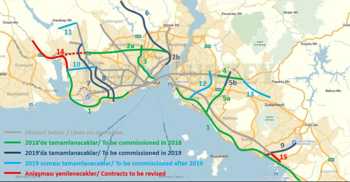 838 - İstanbul metro projeleri ne zaman bitecek?
