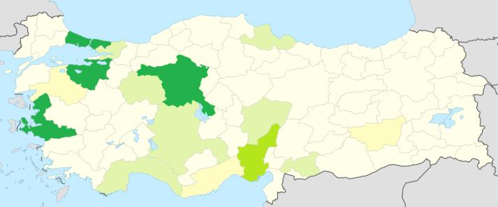 Türkiye Raylı Sistem Haritası