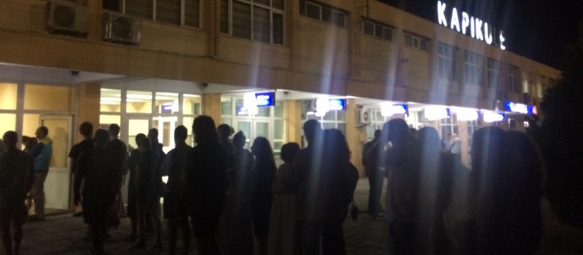 862 - İstanbul Sofya Treni - Onur