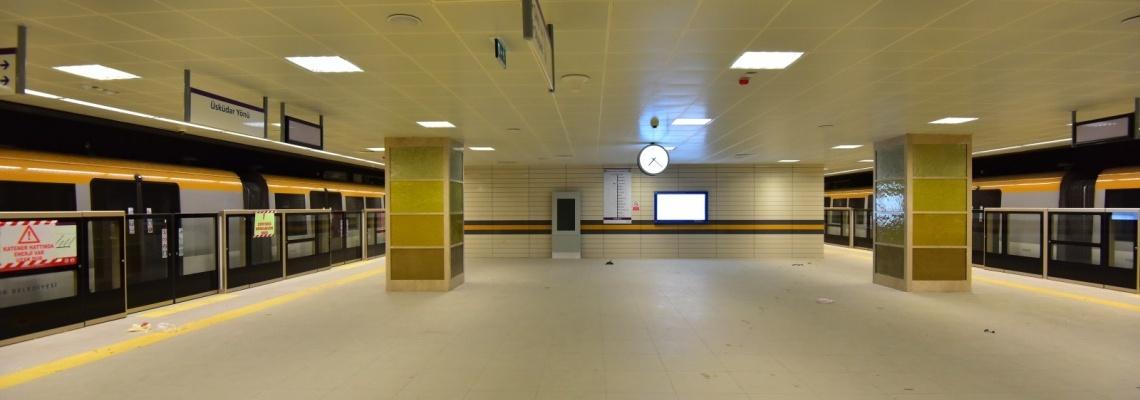 926 - uskudar cekmekoy metro - İbb