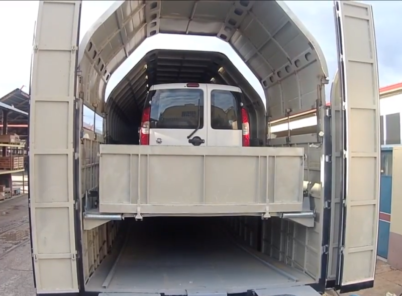 Tülomsaş araç taşıma vagonu