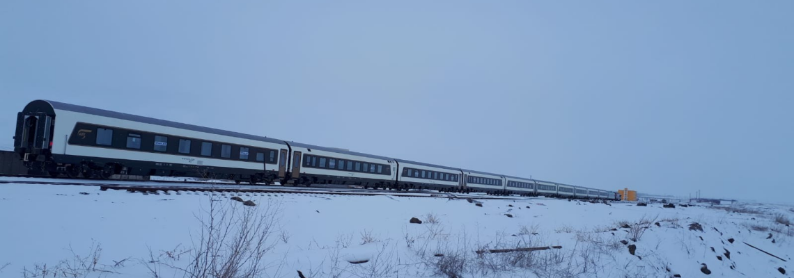 959 - Baku train at Akhalkalaki - Eksper
