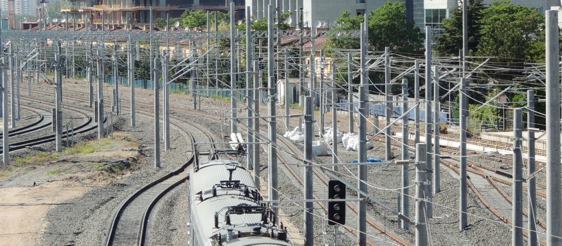 Çin treninden Ankara geçişi sürprizi