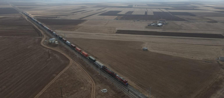 İkinci Çin treni yola çıkıyor